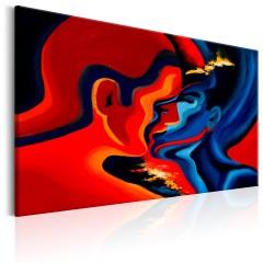 Artgeist Wandbild - Cosmic Kiss