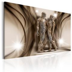 Artgeist Wandbild - Ein Denkmal der Liebe