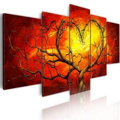 Artgeist Wandbild - Glühendes Herz