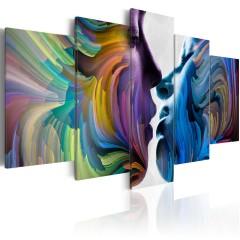 Artgeist Wandbild - Kuss der Farben