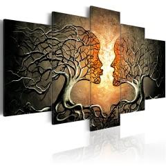 Artgeist Wandbild - Love Entanglement
