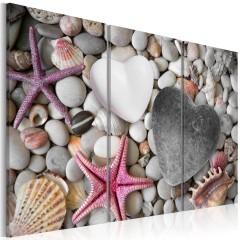 Artgeist Wandbild - Pebbles of love