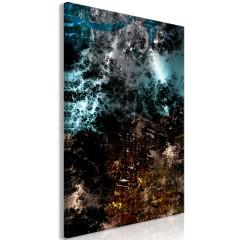 Artgeist Wandbild - Andromeda (1 Part) Vertical