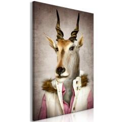 Artgeist Wandbild - Antelope Jessica (1 Part) Vertical