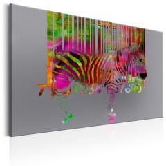 Artgeist Wandbild - Code of Zebra
