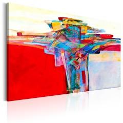 Artgeist Wandbild - Colourful Border