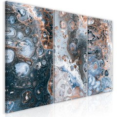 Artgeist Wandbild - Galaxy (3 Parts)
