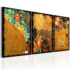 Artgeist Wandbild - Golden Imagination