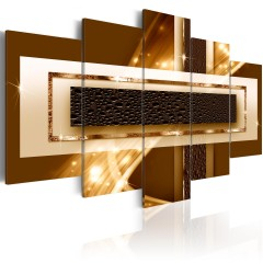 Artgeist Wandbild - Golden Streak