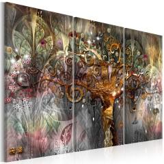 Artgeist Wandbild - Golden Tree I