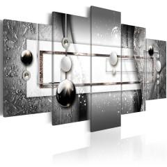 Artgeist Wandbild - Grey Symmetry