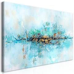 Artgeist Wandbild - Lagoon (1 Part) Wide