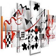 Artgeist Wandbild - Maze (5 Parts) Wide