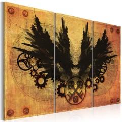 Artgeist Wandbild - Mechanische Flügel