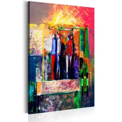 Artgeist Wandbild - Next Stop: Modernity
