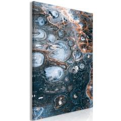 Artgeist Wandbild - Ocean of Stain (1 Part) Vertical