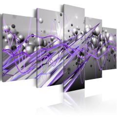 Artgeist Wandbild - Purple Strike