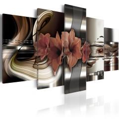 Artgeist Wandbild - Amaryllis - abstrakte Komposition