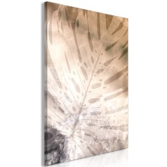 Artgeist Wandbild - Amber Monstera (1 Part) Vertical