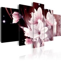 Artgeist Wandbild - Die Blumen-Muse