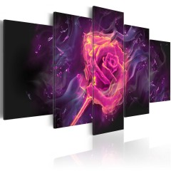 Artgeist Wandbild - Flames of Rose