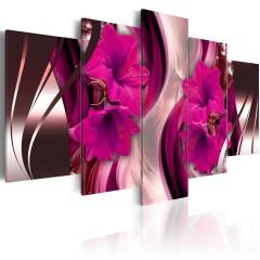 Artgeist Wandbild - Gemütlicher Abend (Fuchsia)