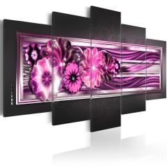 Artgeist Wandbild - In pink waves