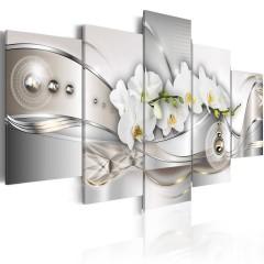 Artgeist Wandbild - Pearl Dance of Orchids