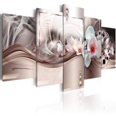 Artgeist Wandbild - Pink Mystery