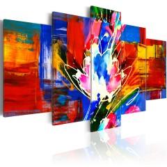 Artgeist Wandbild - Power of Colours