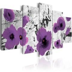 Artgeist Wandbild - Purple dissonance