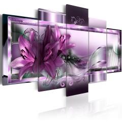Artgeist Wandbild - Purple Lilies