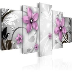 Artgeist Wandbild - Saucy flowers