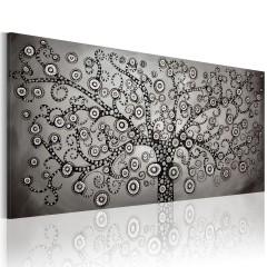 Artgeist Wandbild - Silver Tree