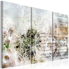 Artgeist Wandbild - Starry Dandelions I