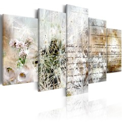 Artgeist Wandbild - Starry Dandelions II