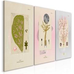 Artgeist Wandbild - Trees (Collection)