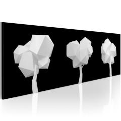 Artgeist Wandbild - Geometrische Bäume