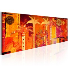 Artgeist Wandbild - African Collage