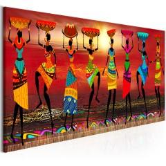 Artgeist Wandbild - African Women Dancing
