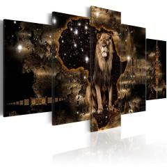 Artgeist Wandbild - Golden Lion