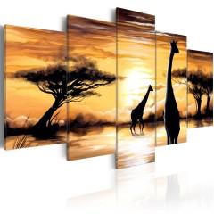 Artgeist Wandbild - Wild Africa