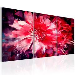 Artgeist Wandbild - Crimson Flowers
