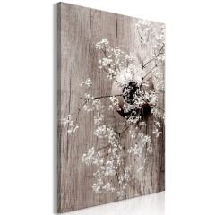 Artgeist Wandbild - Dried Flowers (1 Part) Vertical