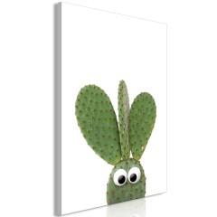 Artgeist Wandbild - Ear Cactus (1 Part) Vertical
