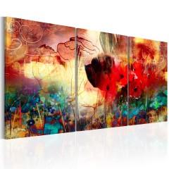 Artgeist Wandbild - Garden of Colours