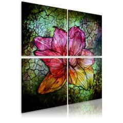 Artgeist Wandbild - Glasblume