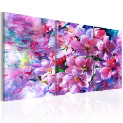 Artgeist Wandbild - Lilac Flowers