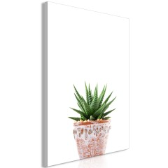 Artgeist Wandbild - Succulents In Pot (1 Part) Vertical