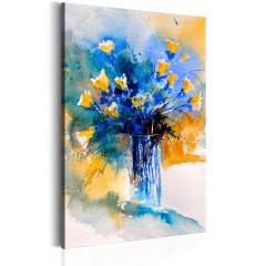 Artgeist Wandbild - Flowery Artistry